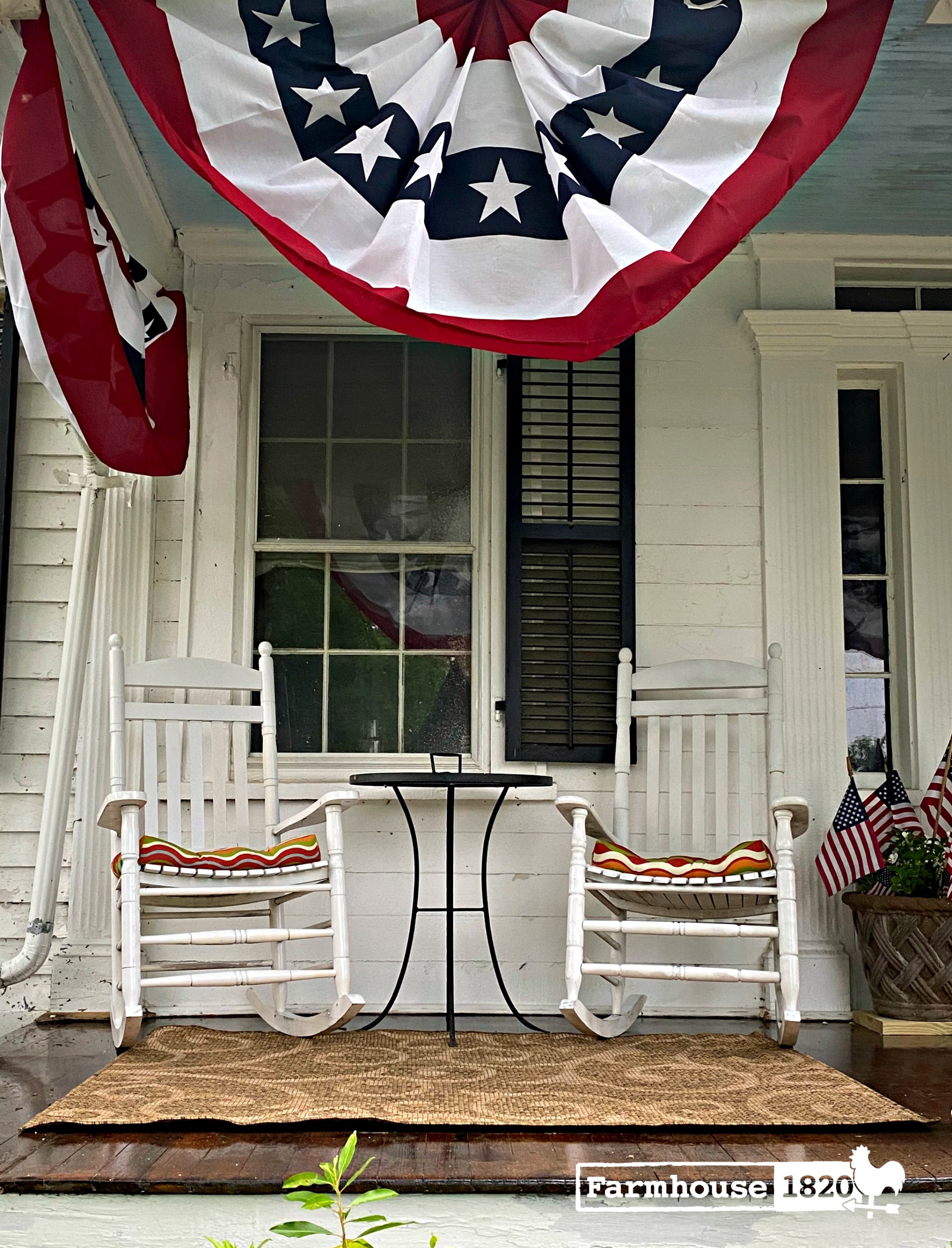 porch - how to decorate a front porch with rocking chairs