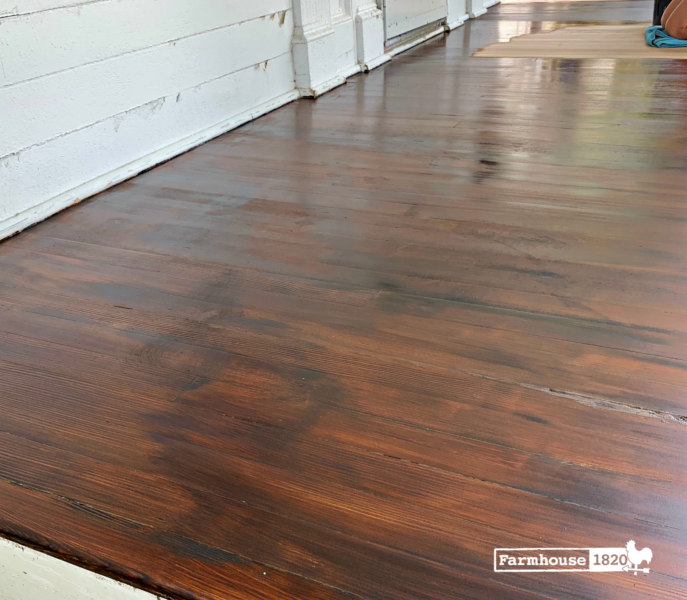 porch - refinishing a porch floor