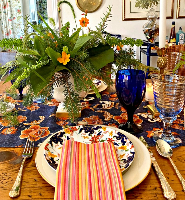 fall tablescape - pretty combinations for a gorgeous fall tablescape