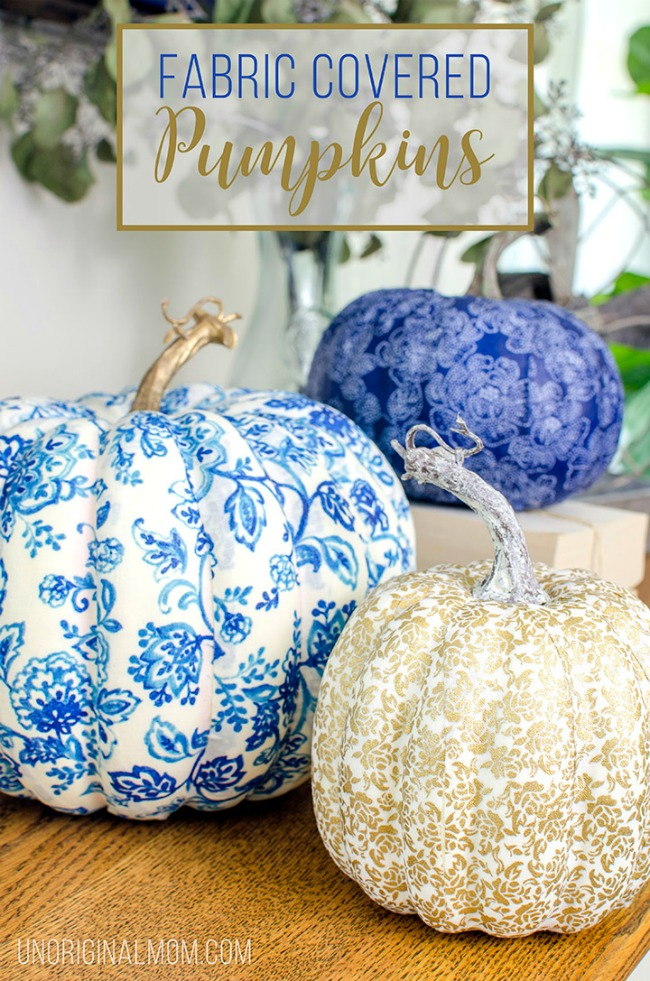 keeping fed mod-podge-fabric-covered-pumpkins-title