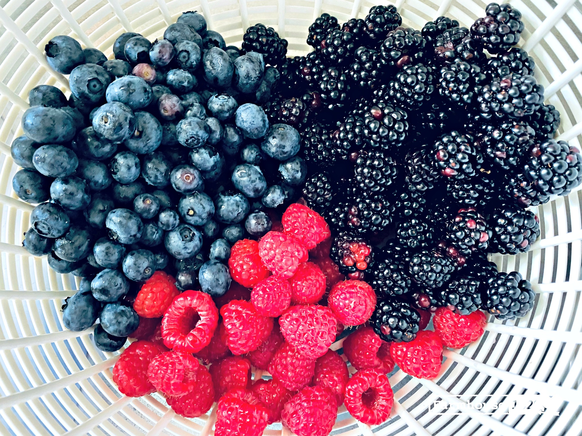 quick tip - how to wash fresh berries