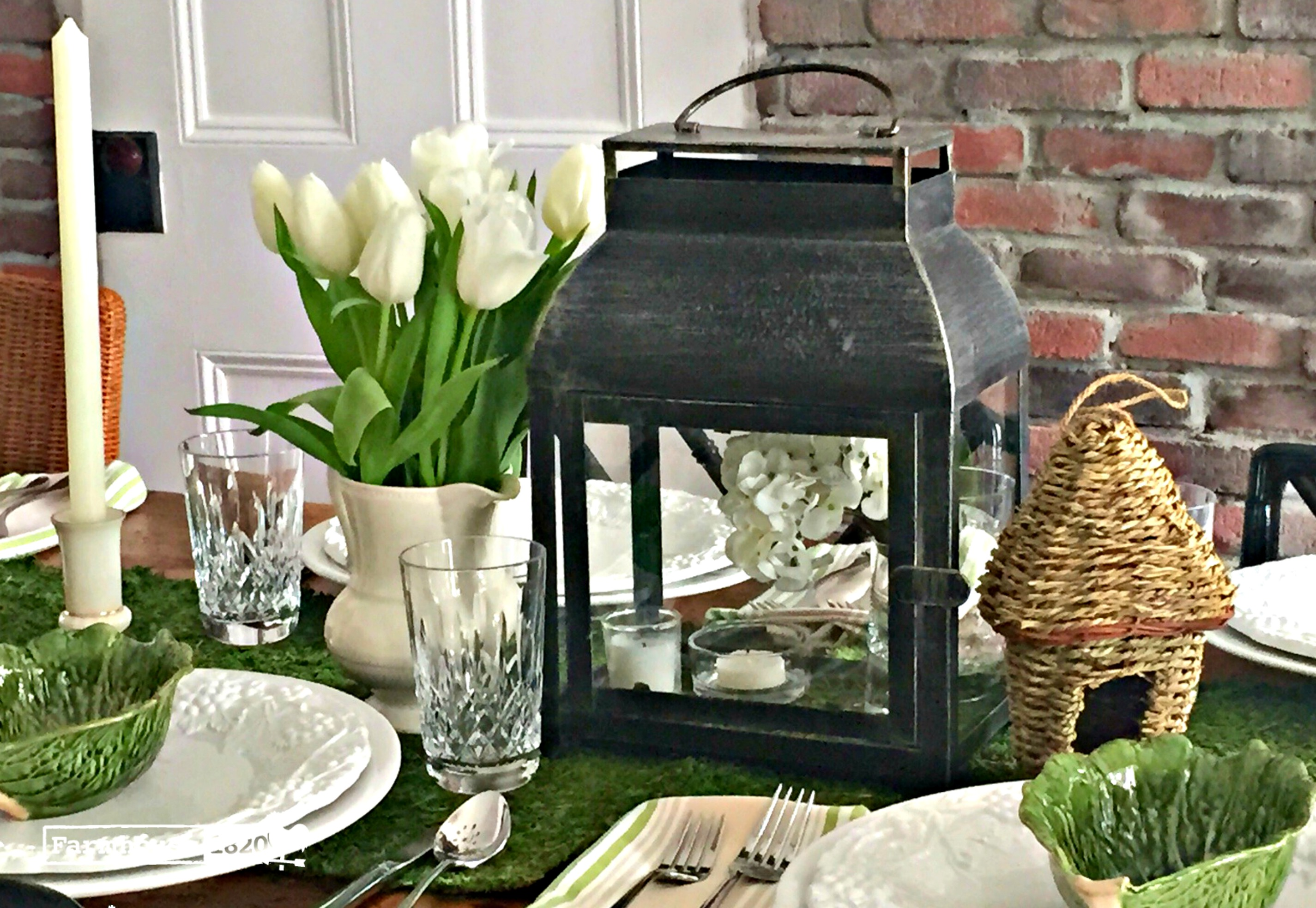 tablescape - summer tablesetting