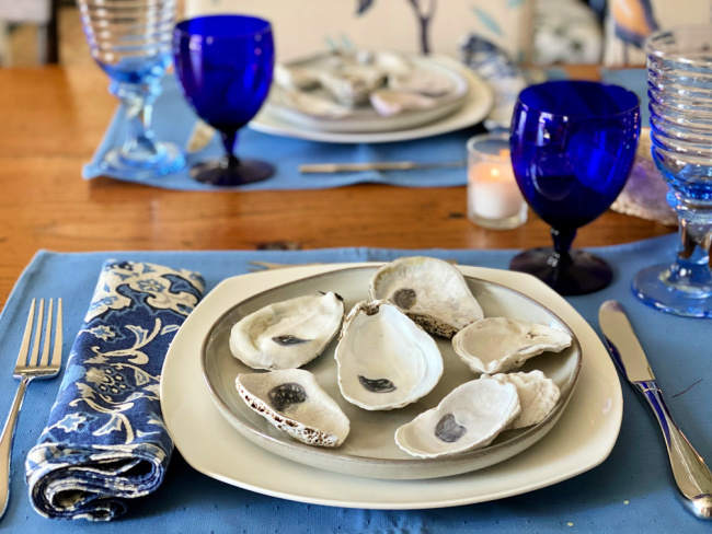 Designing A Custom Oyster Plate